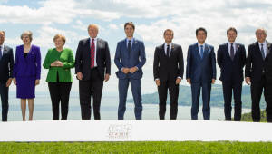 갈등 빚는 'G7', 북미회담에는 '협력'