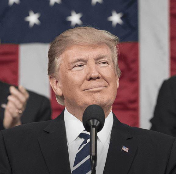 도널드 트럼프 미국 대통령
