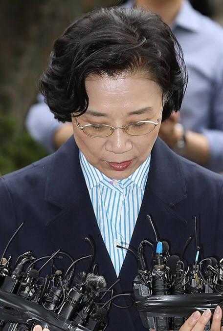조양호 한진그룹 회장 부인 이명희 전 일우재단 이사장