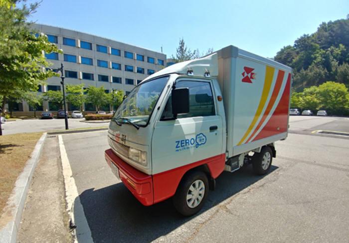 우정사업본부 전기트럭.