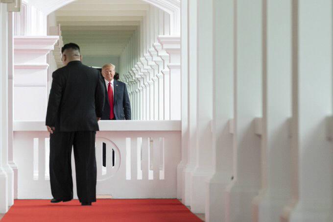 출처: 백악관 트위터