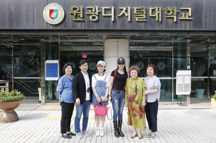 원광디지털대 , 中 웨이하이소화모델학교와 교류협력