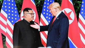 [북미정상회담]북미 정상, '완전한 비핵화' 담은 '공동성명' 채택...추가 회담 하기로