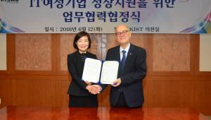 IT여성기업인협회, KIST와 여성 기업 기술애로해소 협력