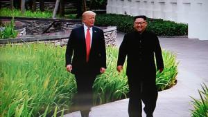 """트럼프 """"김정은, 선대 핵합의 파기 거론하며 비핵화 자신"""""""