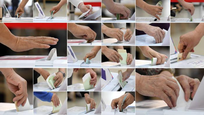 [6·13 지방선거]염원이 담긴 소중한 한표