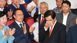 출구조사에 여당 '환호', 야당 '침묵'...홍준표 '사퇴 시사'