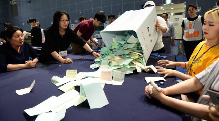 [6.13 지방선거] 개표 시작