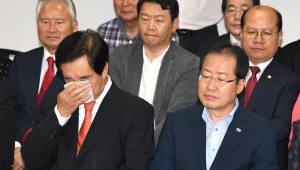 한국당 TK서도 고전...민주당 약진
