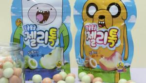 크라운제과, 씹으면 터지는 재밌는 식감 '몽글몽글 젤리톡' 출시