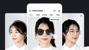 딥아이, AI 기반 안경 쇼핑앱 '라운즈' 출시...가상피팅으로 유명 선글라스· 안경 착용
