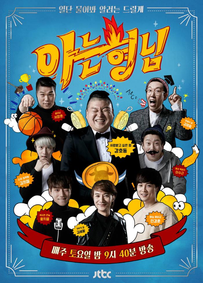 실내 세트안에서의 활동을 주로 펼쳤던 1990년~2000년대 예능은 현재까지도 이어져 대중에게 다양한 재미를 전하고 있다. 사진은 JTBC 인기예능 '아는형님' (사진=JTBC '아는형님' 공식 홈페이지 발췌)