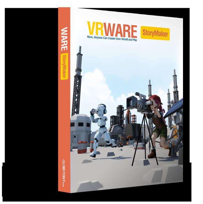 [새로운SW][신SW상품대상추천작]글로브포인트 'VRWARE 스토리메이커'