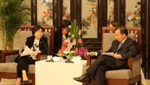 한-중 환경장관, 미세먼지 등 대기오염 대응 협력 논의