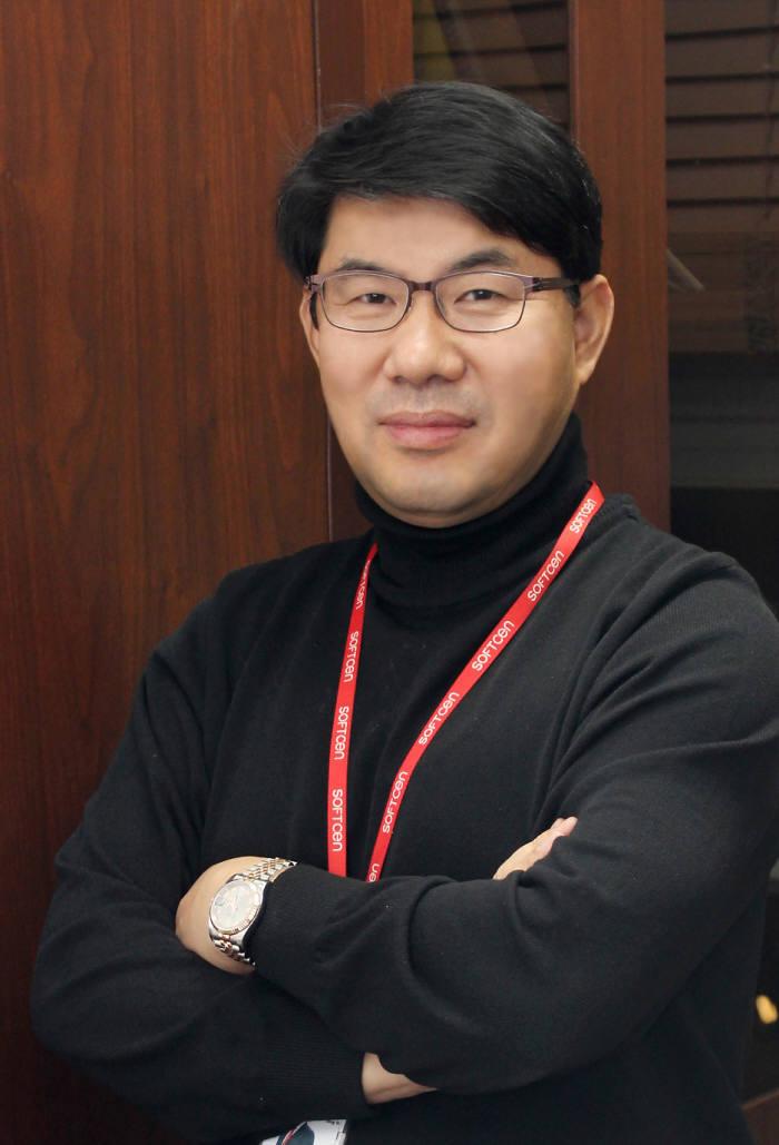 김종인 소프트센 대표