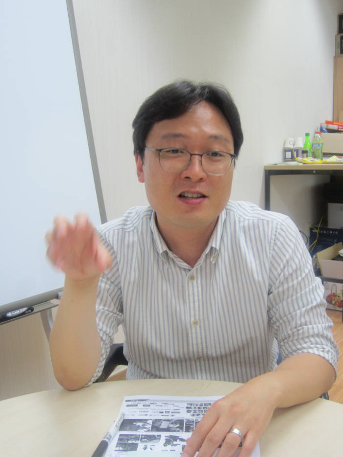"""김승준 교수는 """"HCI와 AI분야를 선도하고 학생들이 관련 분야에서 중추적인 역할을 하도록 지도할 계획""""이라고 강조했다."""