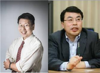 이용구 GIST 교수(왼쪽)와 김대진 포스텍 교수.