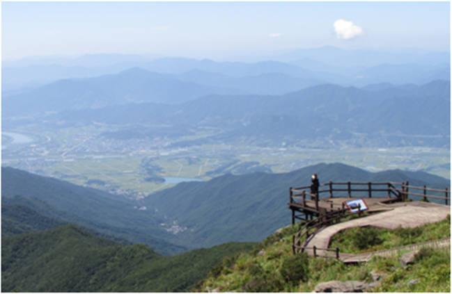 지리산국립공원 노고단.