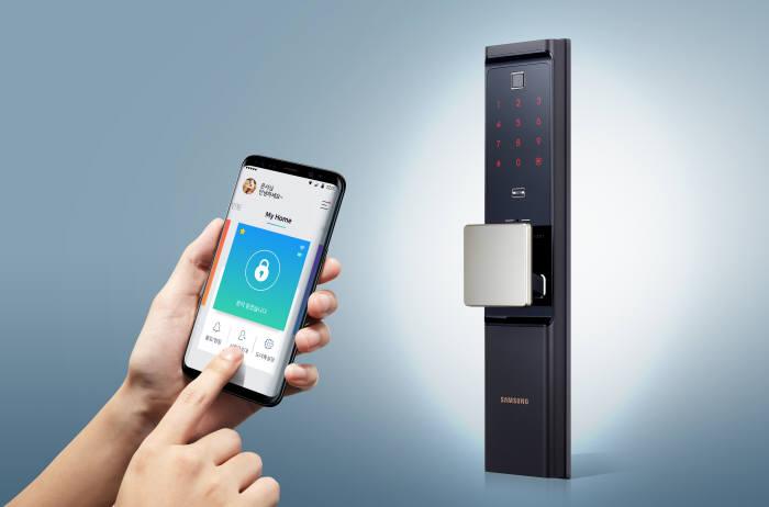 삼성SDS, 와이파이 일체형 IoT 스마트 도어록 출시
