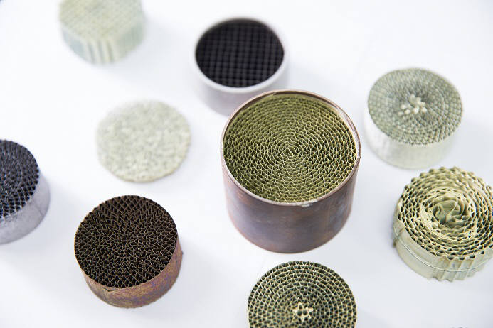 생기원이 개발한 금속 구조체 기반 SCR 촉매