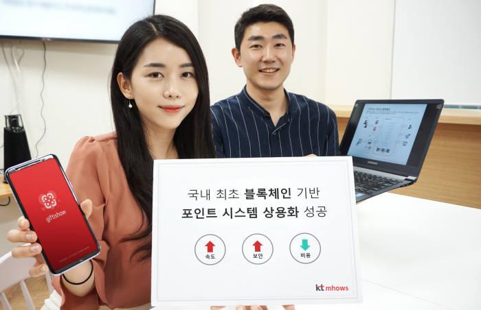"KT엠하우스 ""온라인 포인트에 블록체인 국내 첫 상용 도입"""