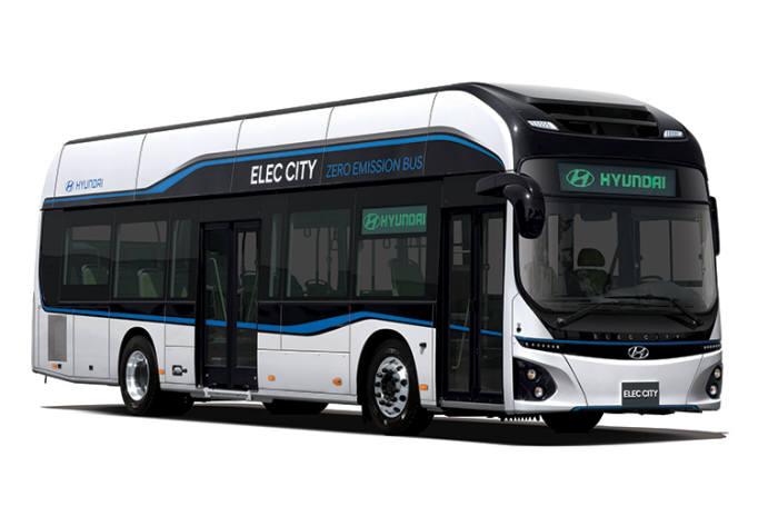 현대자동차 전기버스 일렉시티.