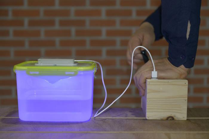 쉐어라이트 UVC-LED 물살균기<전자신문DB>