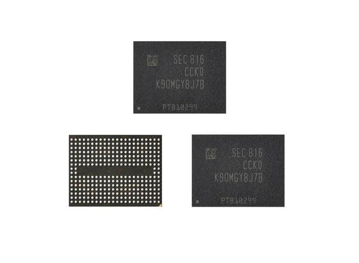 삼성전자 5세대 3차원 V낸드 제품 이미지<사진 삼성전자>