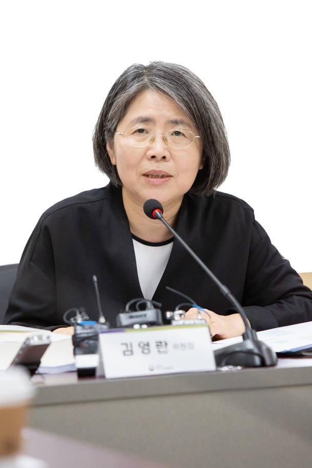 김영란 공론화위원회 위원장