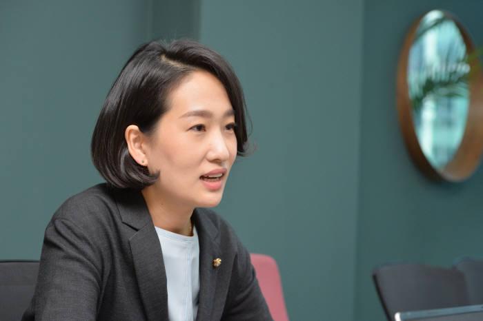 김수민 국민의당 의원. 박지호기자 jihopress@etnews.com