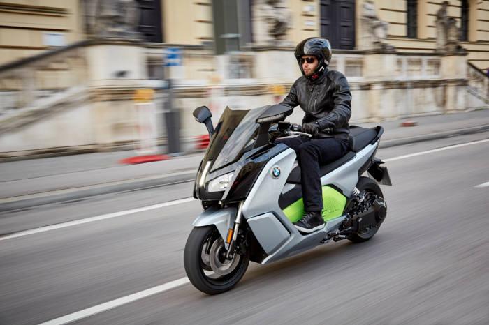 BMW모토라드 전기 스쿠터 뉴 C 에볼루션.