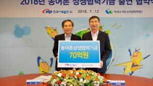 대·중소기업·농어업협력재단-한국서부발전, 농어촌 상생협력기금 출연 협약