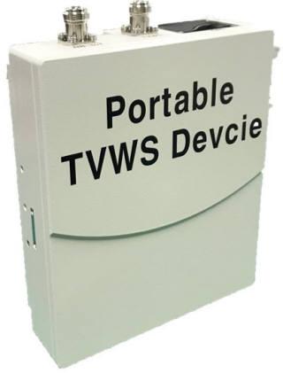 이노넷 이동형 TVWS 장치.