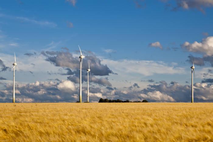 독일 마인츠 에버스하임 풍력발전단지. 사진: juwi 제공