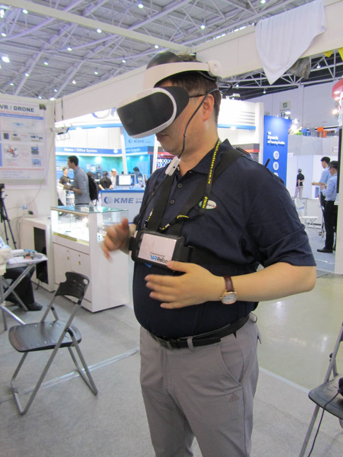 """비아코, """"HMD 무선킷 VR 리로드 세계가 주목"""""""