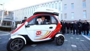 {htmlspecialchars([혁신으로 진화하는 우정사업]오토바이 저물고 전기차가 온다...