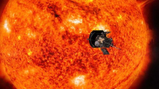 다음 달 발사될 예정인 NASA의 태양 탐사선 파커 솔라 프로브 상상도.(출처: NASA)