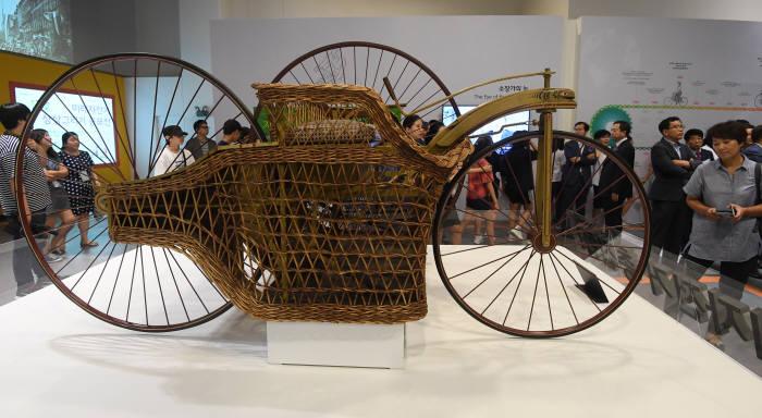 이것이 세계에 몇 대 없는 희귀 자전거래요
