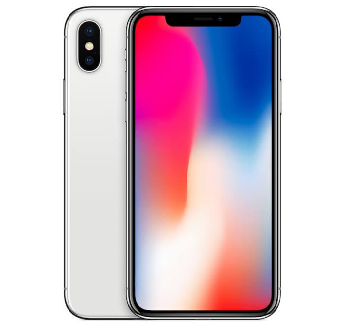 삼성디스플레이 OLED 패널이 탑재된 애플 아이폰X.