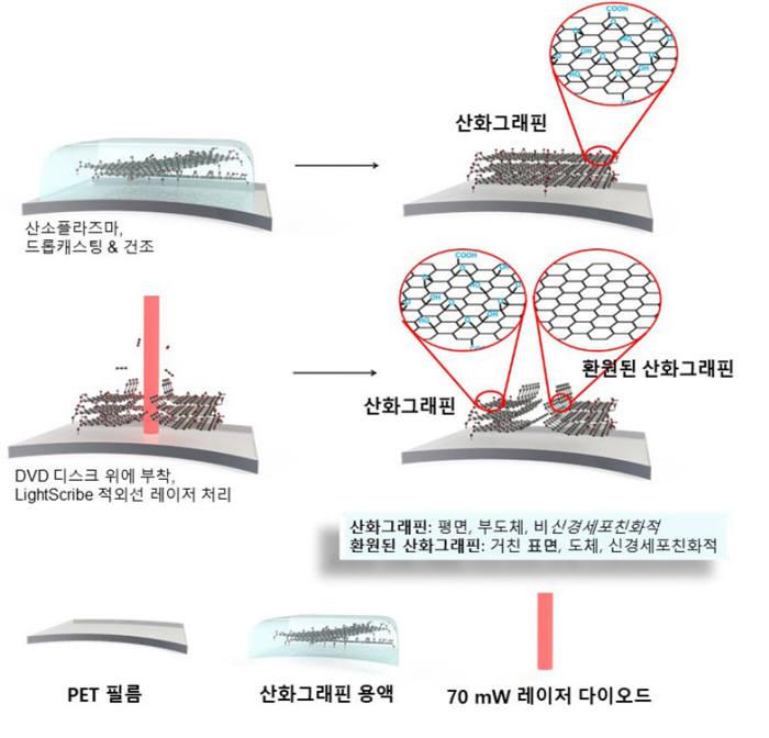 PC DVD 드라이브의 적외선 레이저를 이용해 신경세포칩을 설계 및 제작하는 원리