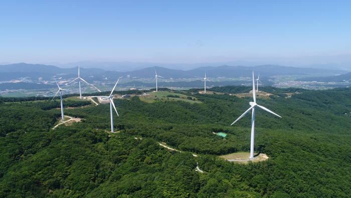 경주 풍력 발전소