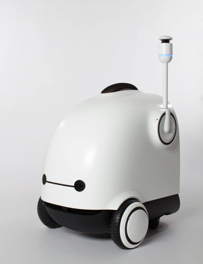 자율주행 로봇 딜리.(사진=우아한형제들 제공)
