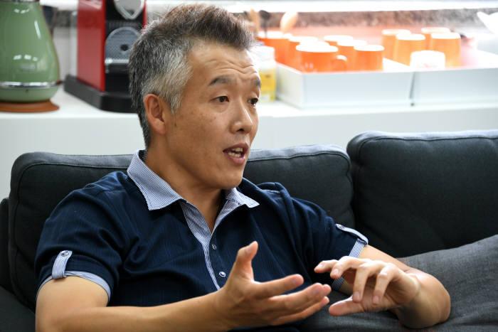 """[데스크가 만났습니다]오치영 지란지교 창업자 """"직원 꿈을 이루는 '드림플랫폼' 만든다"""""""
