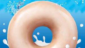 크리스피 크림 도넛, '밀키스 글레이즈드 및 큐브음료 2종' 출시