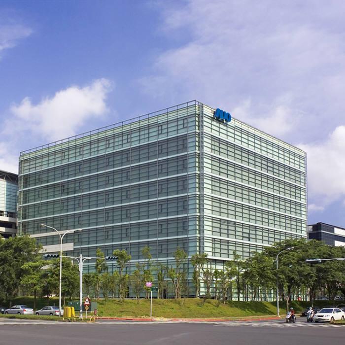 대만 신주 과학단지에 위치한 AUO 본사 전경 (사진=AUO)