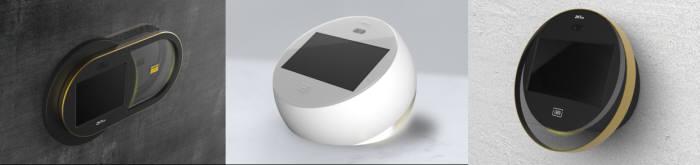 제트앤씨, 바이오인식 출입통제 제품 3종 디자인 공개