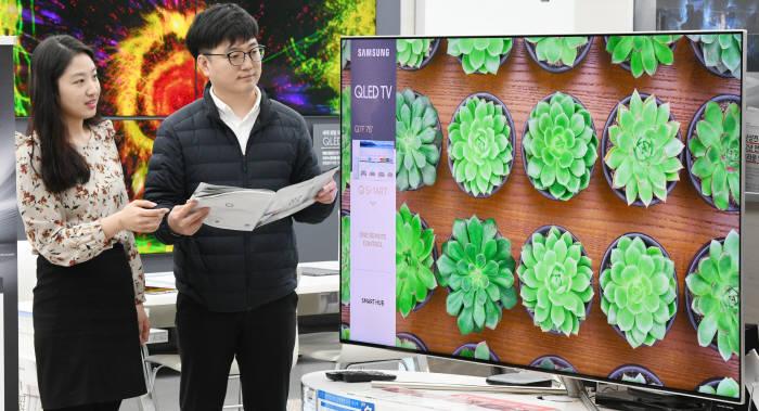 '올림픽 효과 미미' 상반기 TV시장 소폭 성장…삼성-LG 양강에 중국 추격
