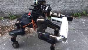 재난 구조용 반인반마 로봇 개발