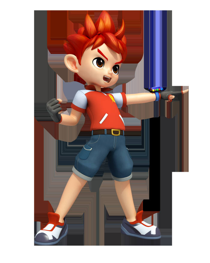 스튜디오버튼이 출시한 애니메이션 등장인물의 캐릭터.