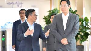 김동연 경제부총리, 삼성전자 평택캠퍼스 방문